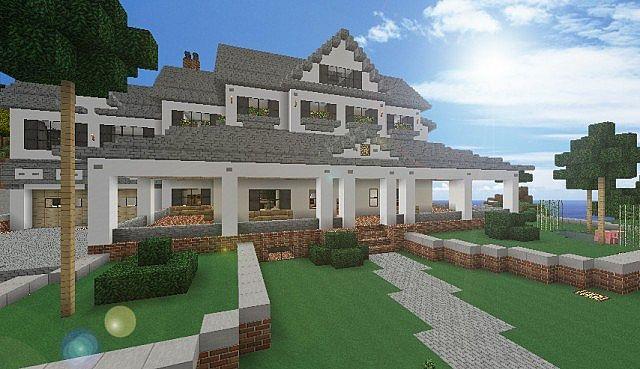 Minecraft Beach House Modern White Beach House Terraria