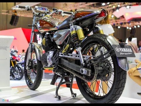 2016 New Yamaha Resonator 125 Caferacer Concept First Photos Details Tms15 Youtube Yamaha Triumph Bonneville Scrambler Scrambler Motorcycle Ideas