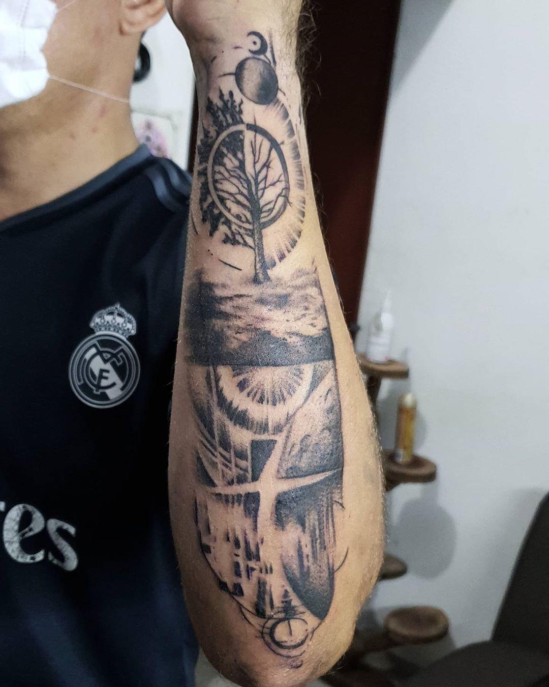 #tattoo #tattoostyle #tatuadoresmexicanos #mexico #merida #yucatán #lovetattoo #tattoo #tattoolovers 3#tattoo de 3
