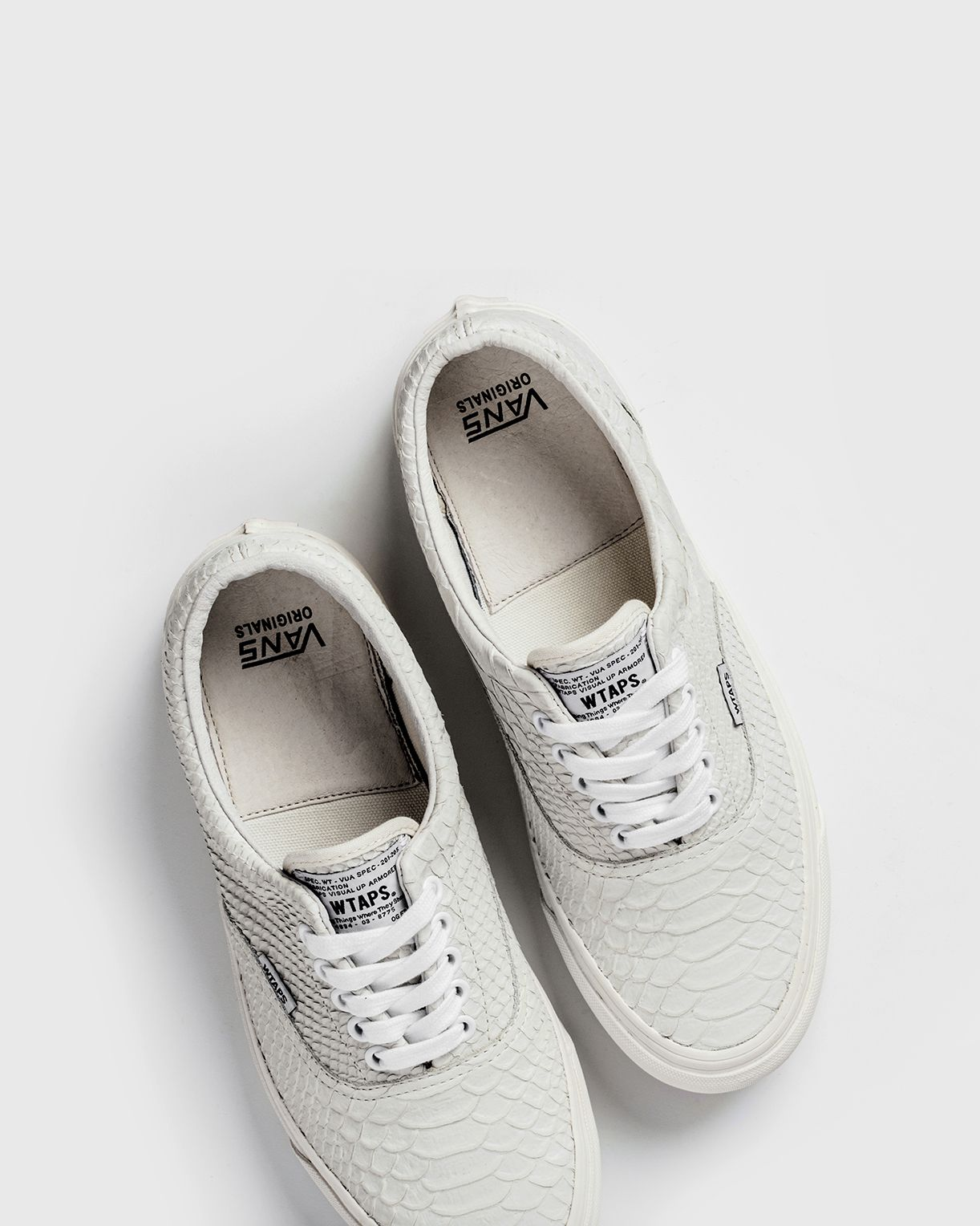 fa787e05666fc1 Vans Vault x WTAPS  Anaconda  OG Era LX  Vans  VansVault  Era  WTAPS   Fashion  Streetwear  Style  Urban  Lookbook  Photography  Footwear   Sneakers  Kicks   ...
