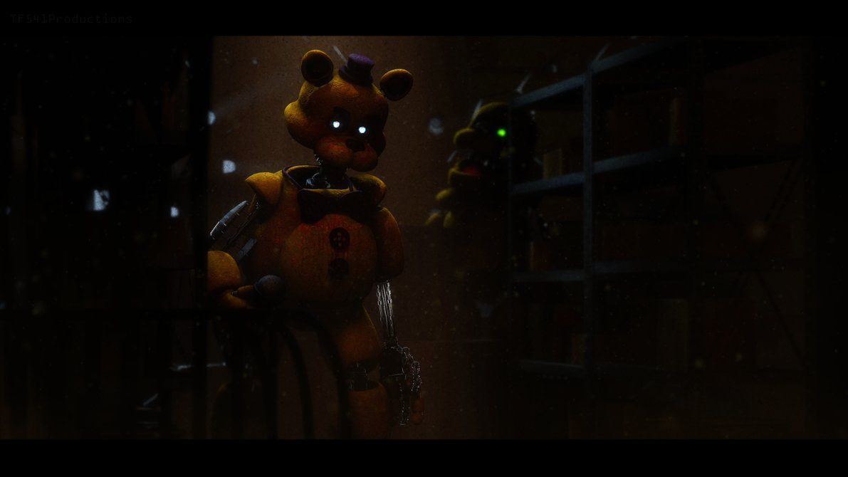 Model Showcase: Fredbear and Spring Bonnie by