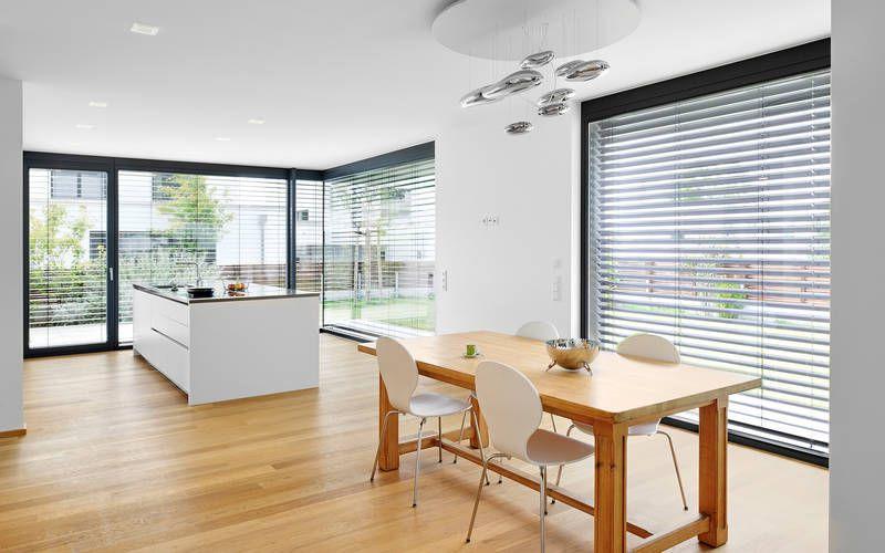1016 Einfamilienhaus, Neubau | a.punkt architekten #dunkleinnenräume