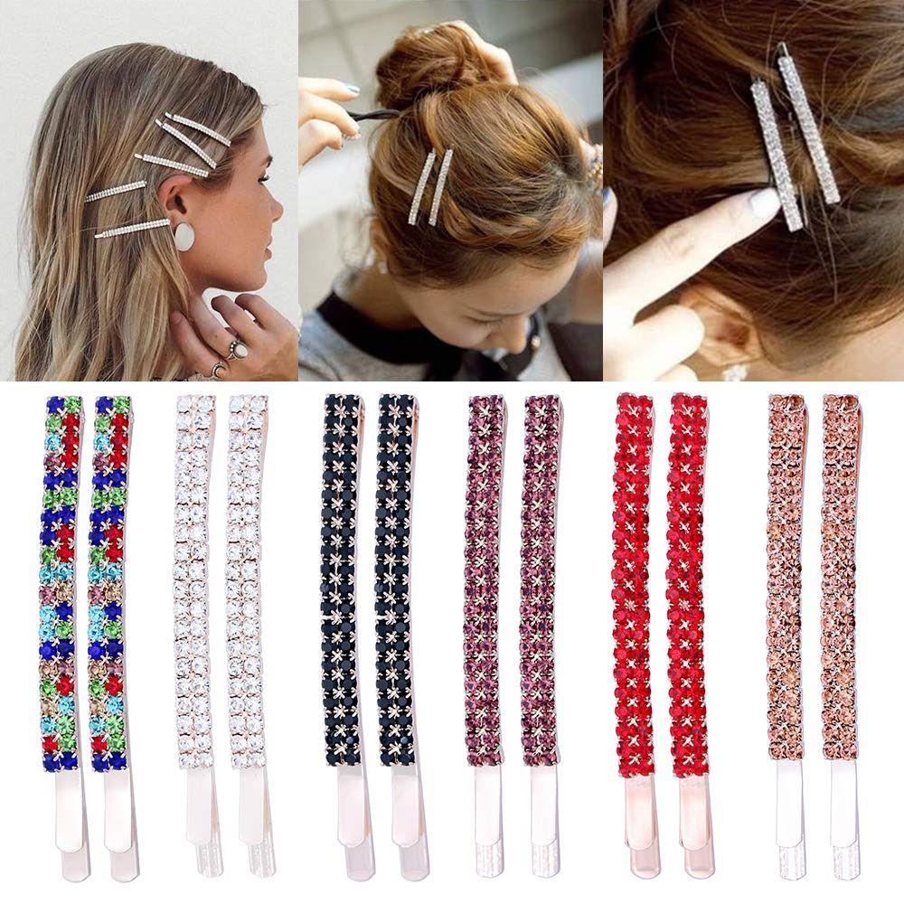 Rhinestone Bobby Pins Crystal Hair Pins
