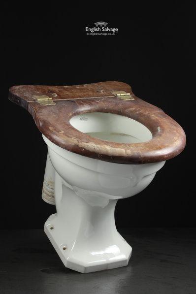 Royal Doulton Pan Toilet Loo Bathroom Edwardian