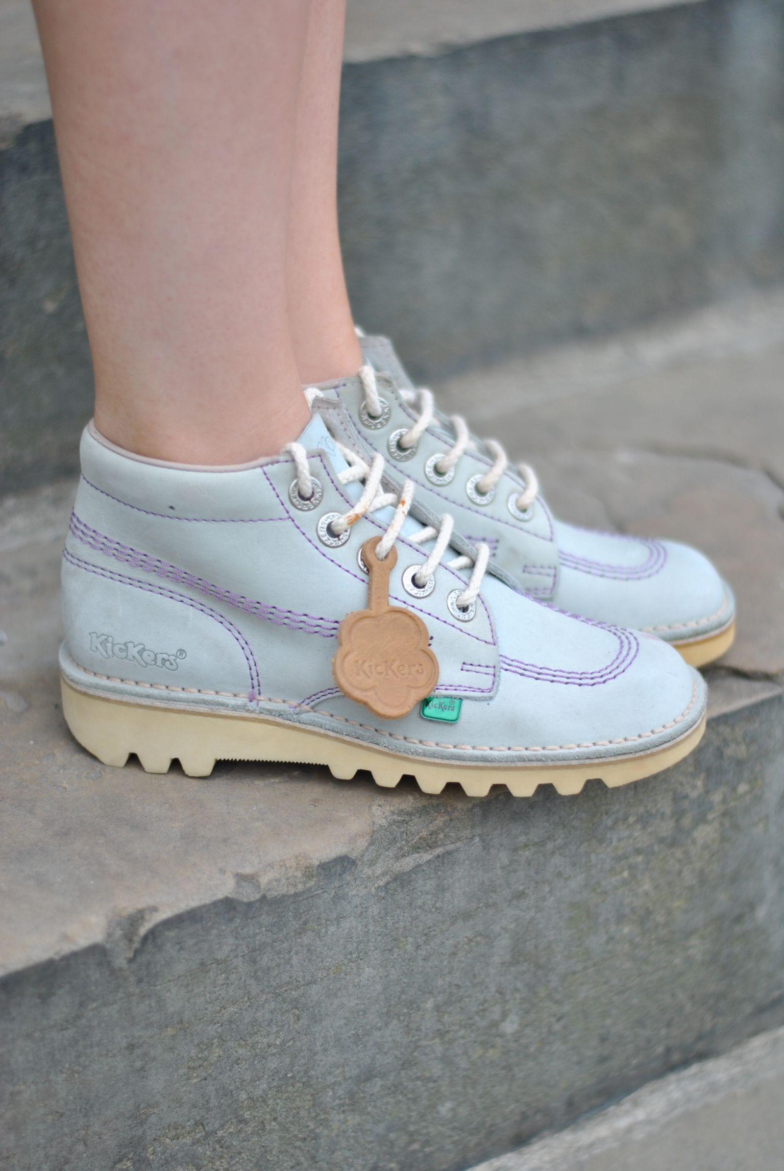 dd970eb9 Lilac kickers x | fagitakia in 2019 | Fashion, Kickers shoes, Shoes