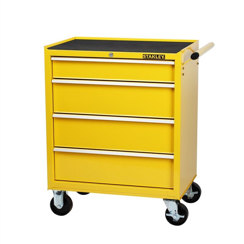 Stanley 27 4 Drawer Tool Trolley Bunnings Warehouse In 2020 Tool Storage Cabinets Tool Cabinet Tool Cabinets Chests