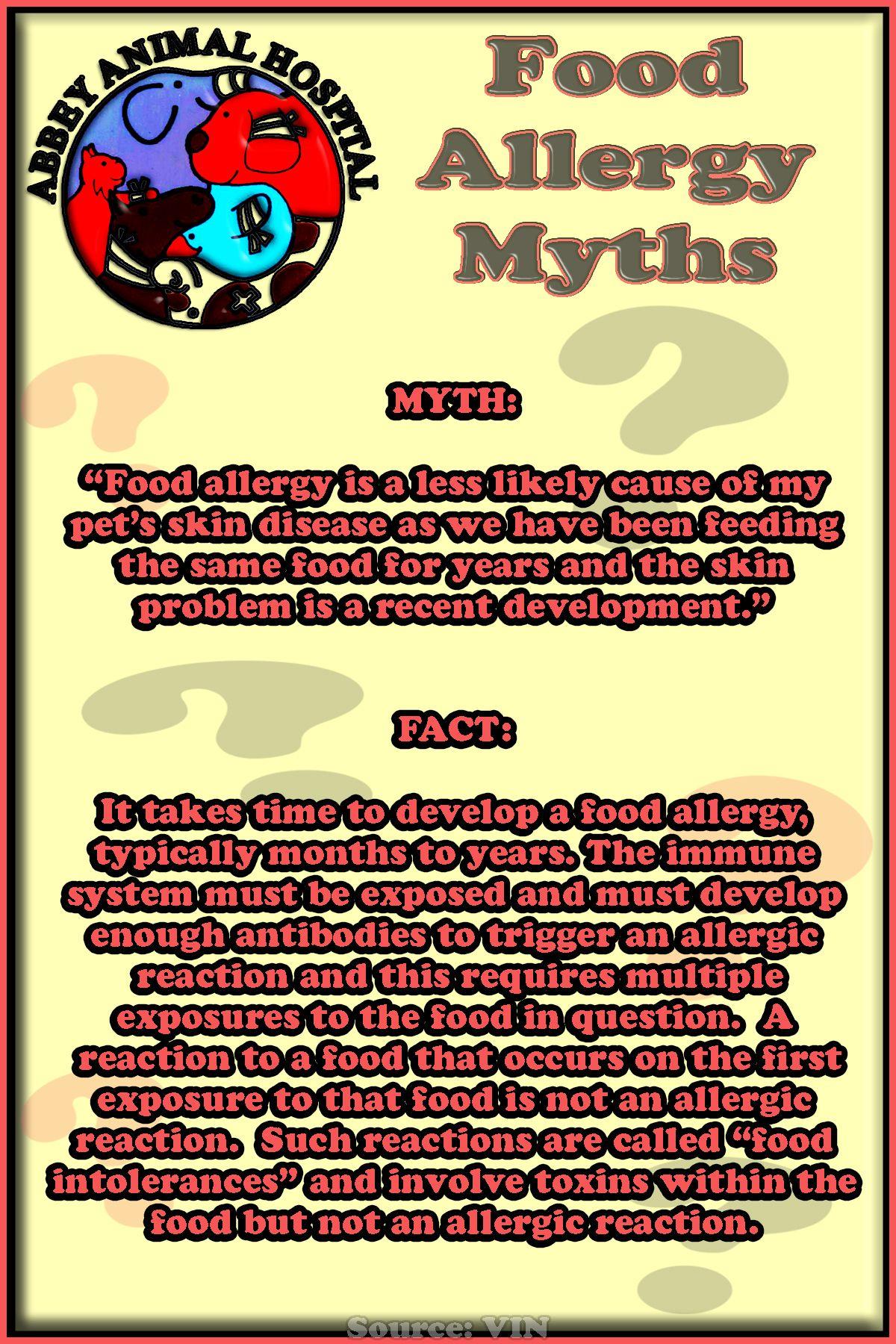 Food Allergy Myths
