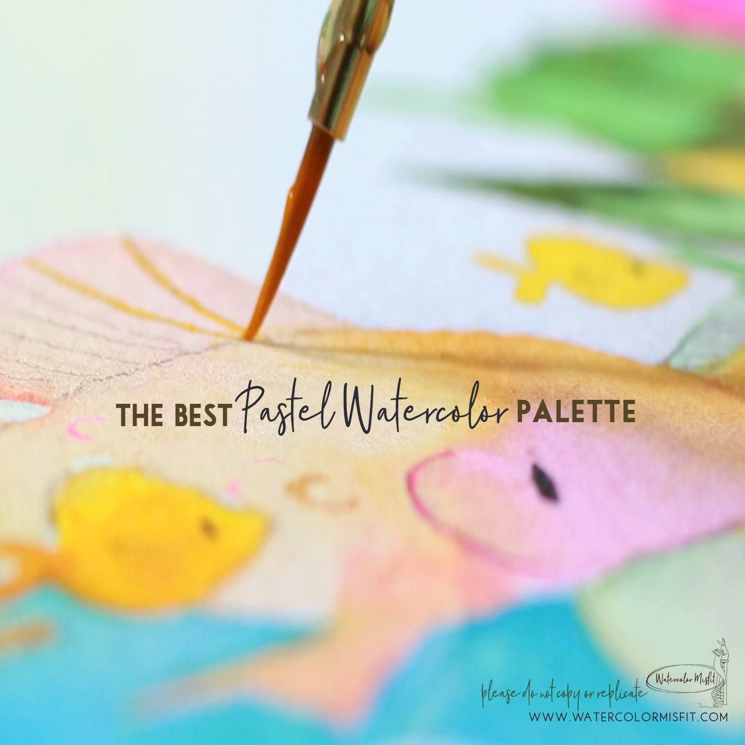 The Best Watercolor Pastle Palete For Me Watercolor Palette