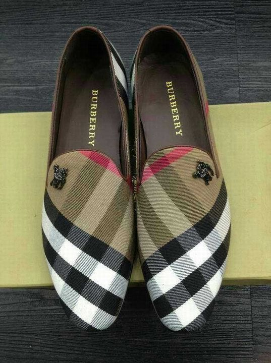 burberry boat shoes