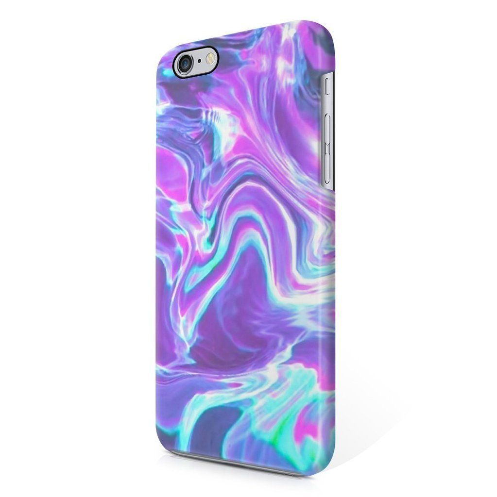 Holographic water tie dye rainbow colorful