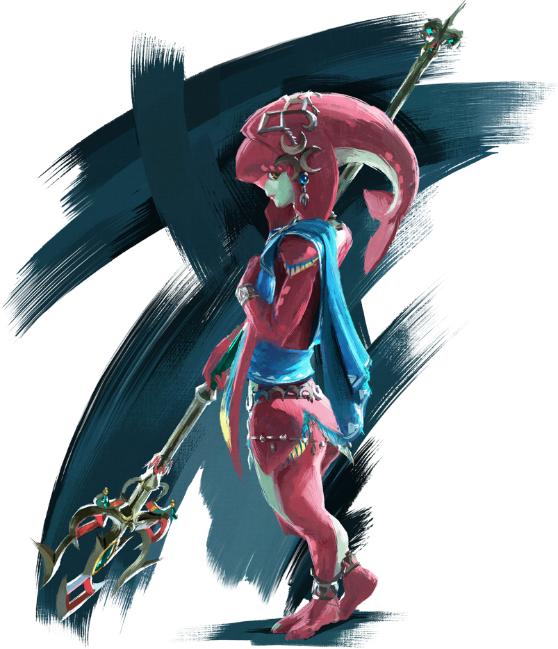 Mipha ミファー Mifā Is A Character In The Legend Of Zelda Breath Of The Wild She Is The Princess Legend Of Zelda Breath Legend Of Zelda Breath Of The Wild