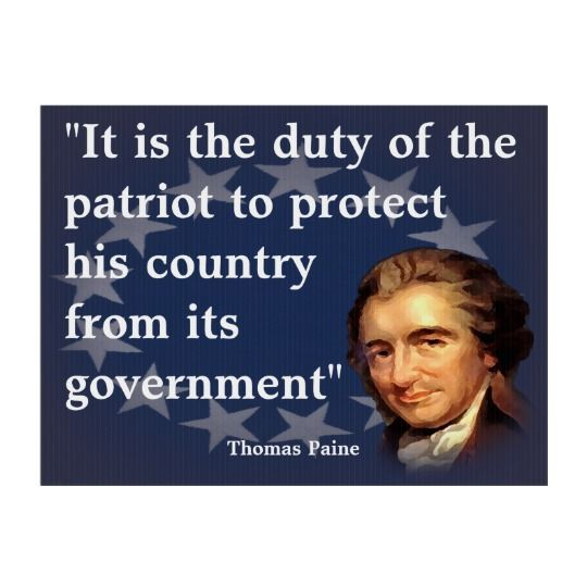 Thomas Paine Quote On The Duty Of The Patriot Yard Sign Zazzle Com Thomas Paine Quotes Patriotic Quotes Revolution Quotes