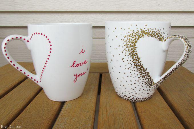 DIY Craft Project: Sharpie Mug Tutorial - Bren Did