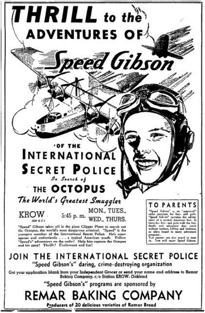 Speed Gibson and the International Secret Police, in