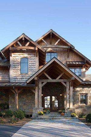 Log Home Designs | Rustic Home Designs | Timber Framed Homes ...