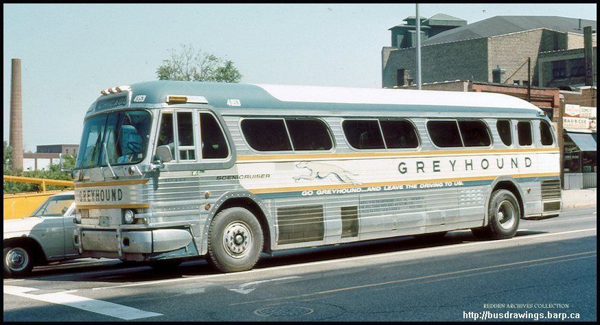 Vintage Shots From Days Gone By Retro Bus Greyhound Bus Bus