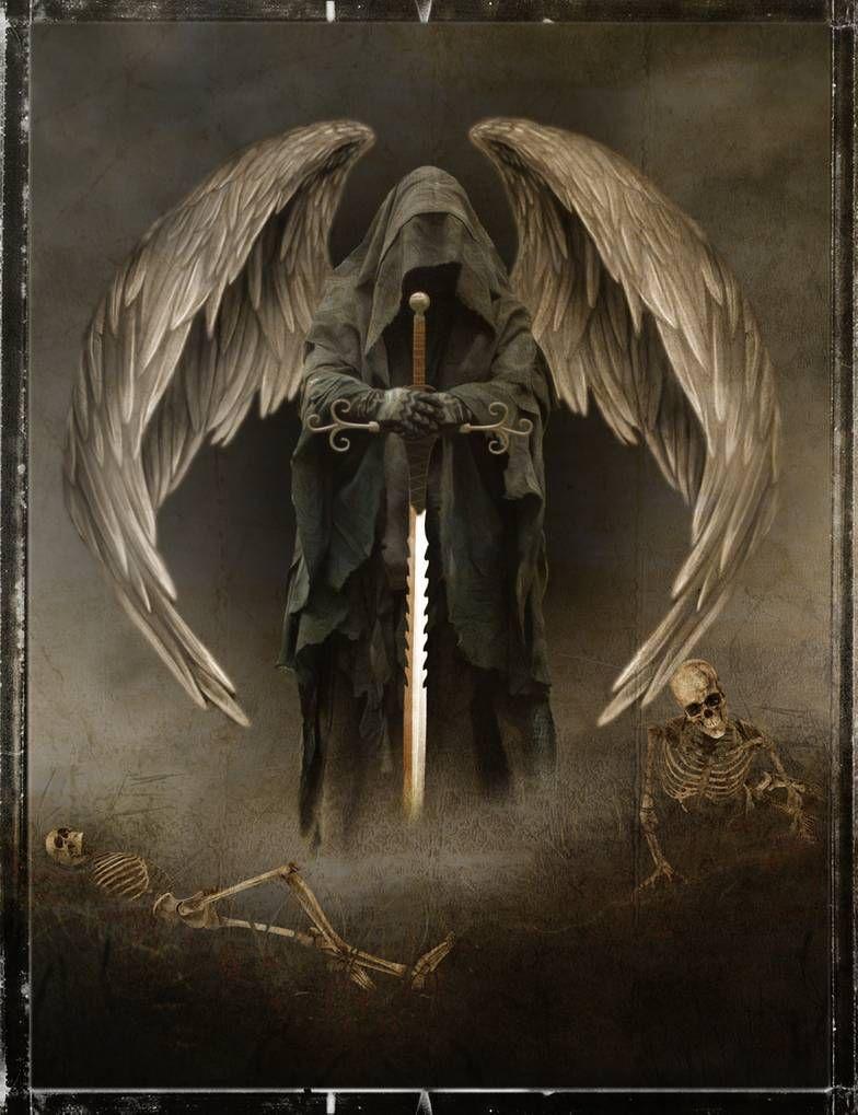 Angel Of Death By Richmel1 On Deviantart Angel Tattoo Men Dark Angel Tattoo Fallen Angel Tattoo