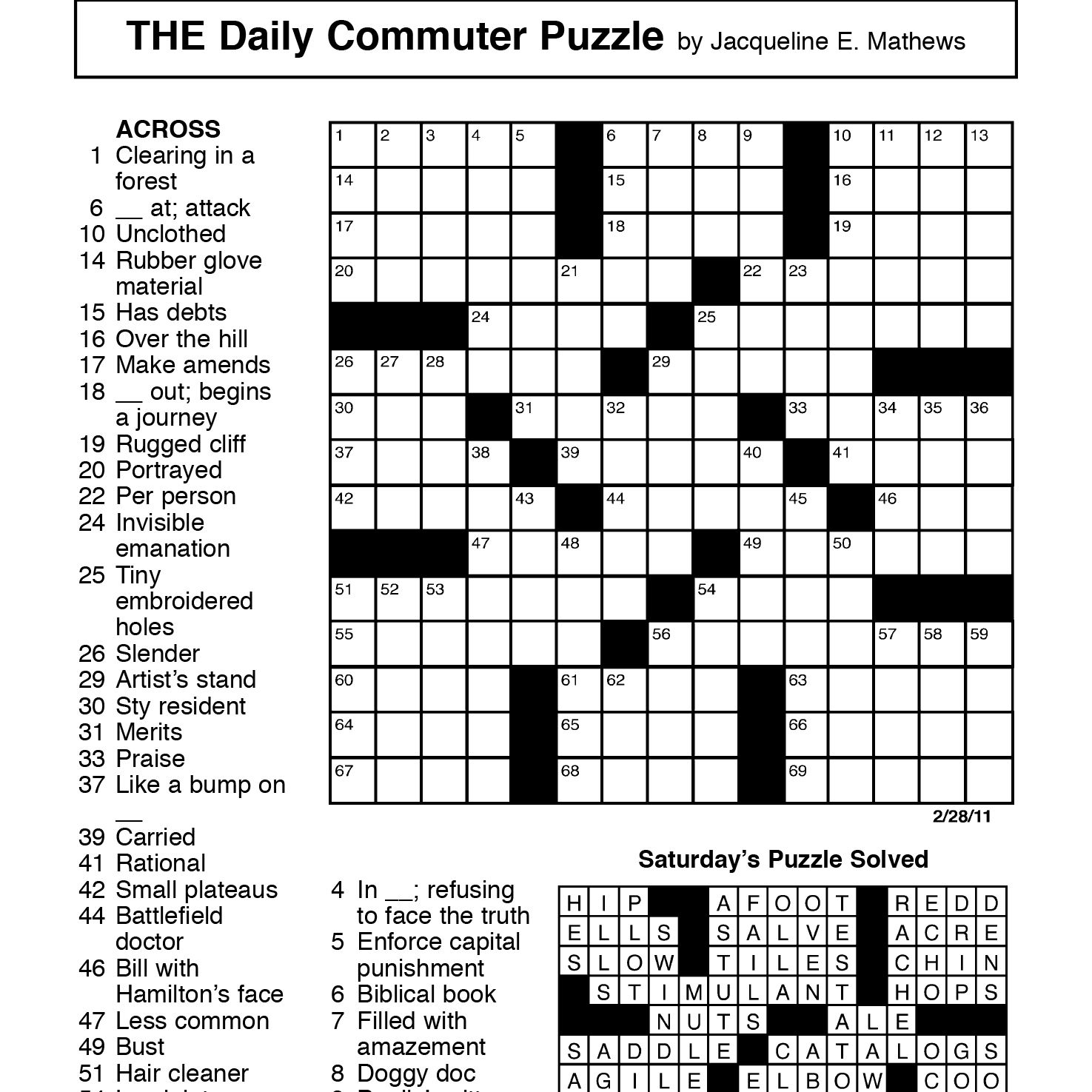 One of the Most Important Crosswords in New York Times