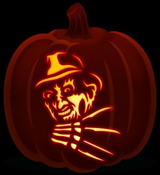 Freddy Krueger Pumpkin Design Pumpkin Carving Freddy Krueger