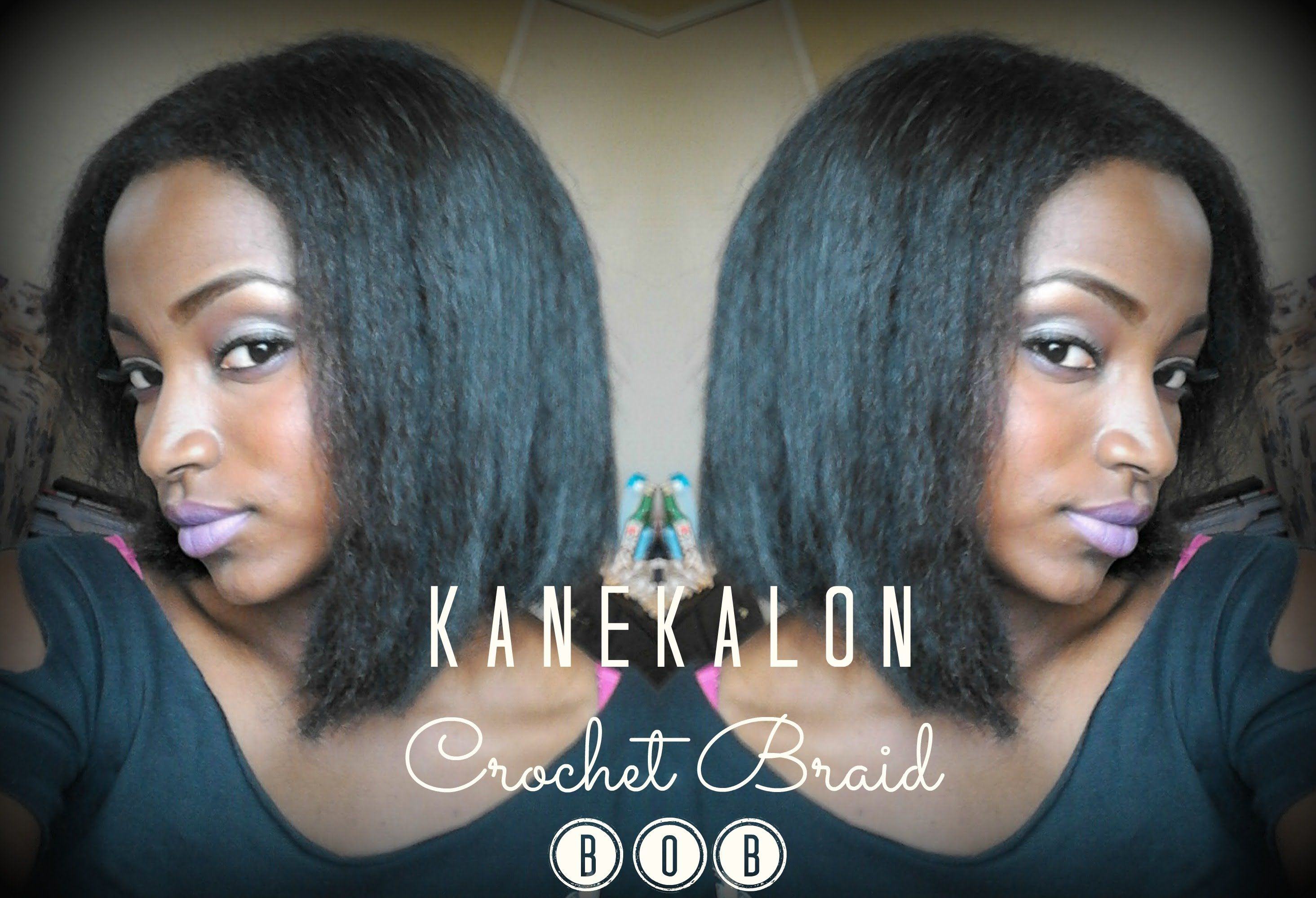 Kanekalon Crochet Braid Bob Cutting Styling Tips Crochet