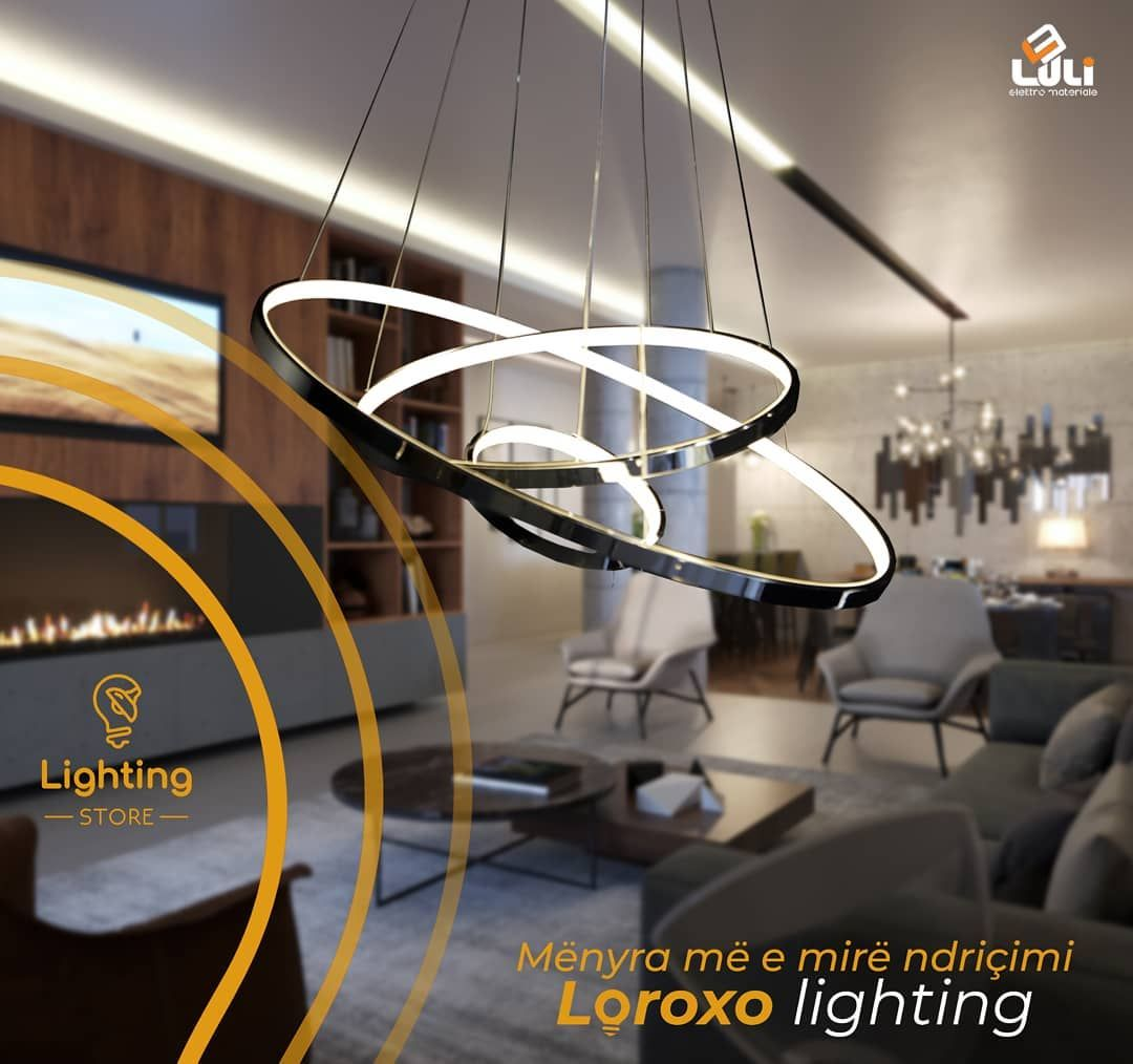 Loroxo Lighting Menyra Me E Mire E Ndricimit Na Gjeni Ne Magjistralen Ferizaj Prishtine Per Me Shum Info Na Kontaktoni 383 44 123 6 Lamp Home Decor Decor