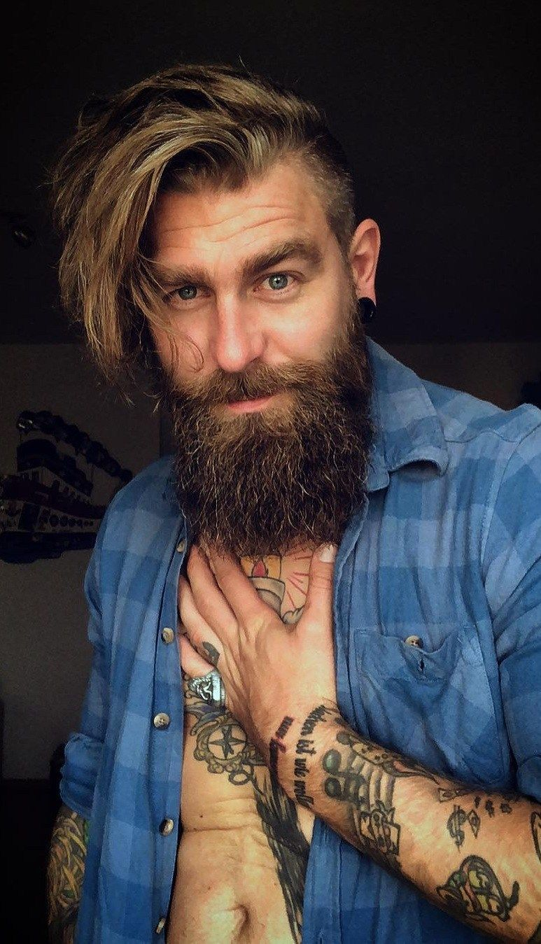 27 best long hairstyles for men it gives men a rugged and
