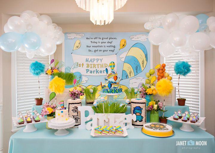 Boys First Birthday Party Ideas First Birthday Party Themes Dr Suess Birthday Party Ideas