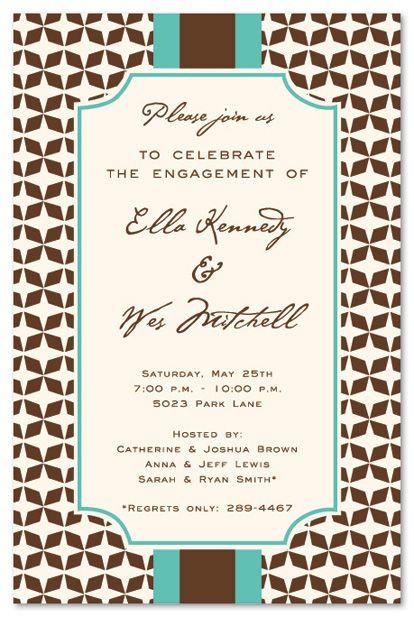 Pin by Nancy Bendinger on Paper, I love paper! Pinterest Mocha - invitations in word