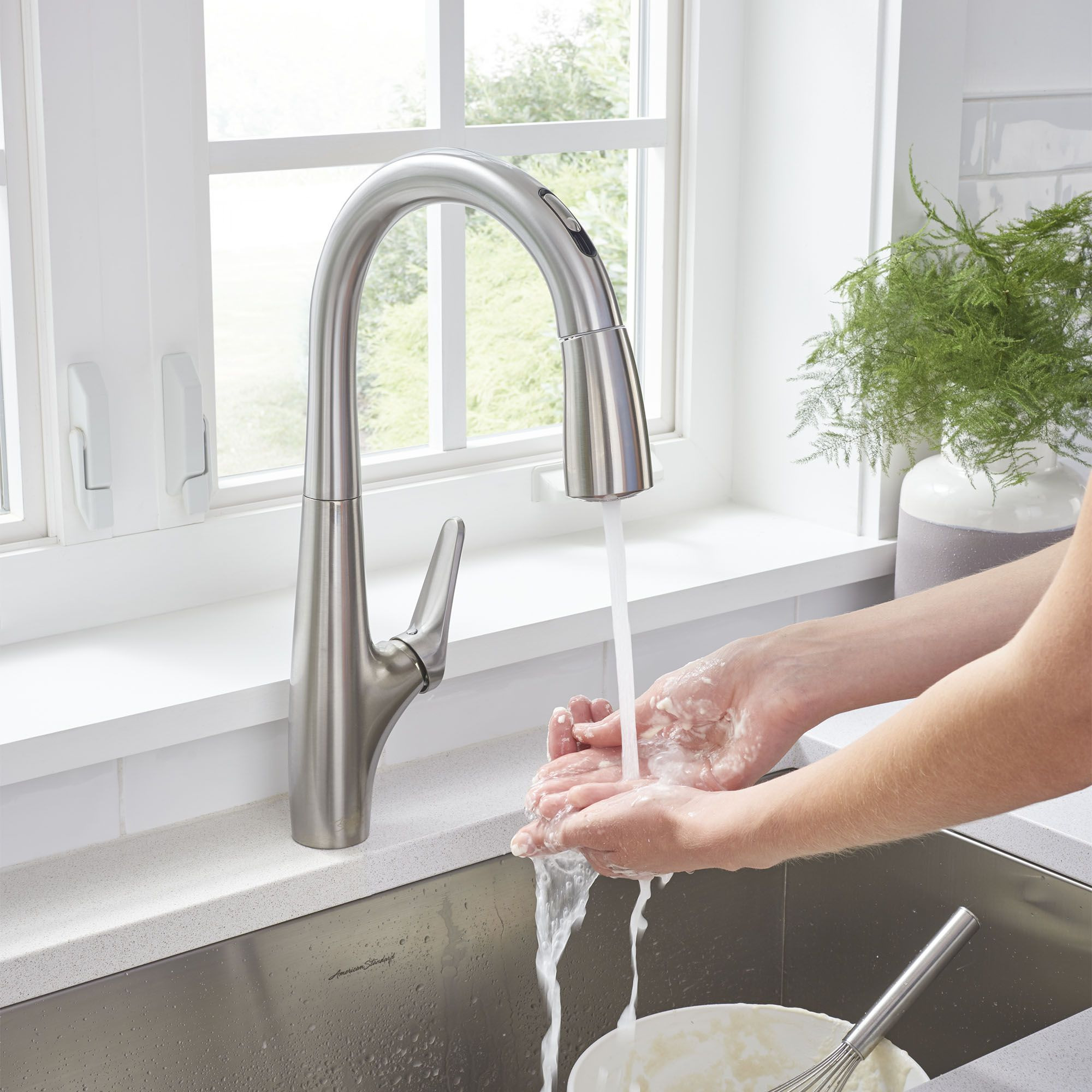 Our Avery Hands Free Faucet Is Versatile And Elegant With