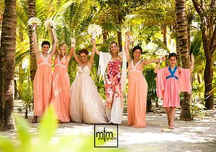 Bridal Party ~ these  Best Friends have their Bride's back and are telling the WORLD!!! Girlfriendz Rock!!! ~~ MTM Photography in Mayan Riviera Wedding Photographer. Wedding Photographer photos in Cancun, Playa del Carmen, Puerto Morelos, Puerto Aventuras and Tulum. www.MomentsThatMatterPhotography.com