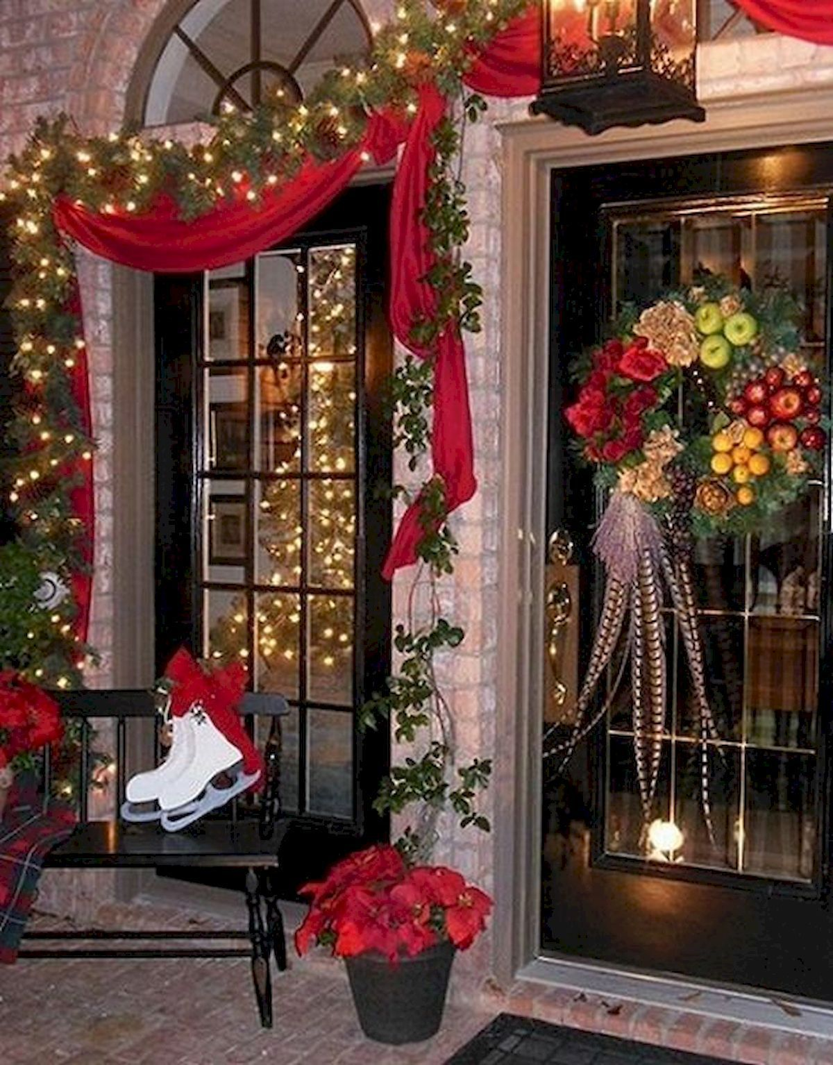40 amazing outdoor christmas decor ideas (2 christmas pinterest40 amazing outdoor christmas decor ideas (2)