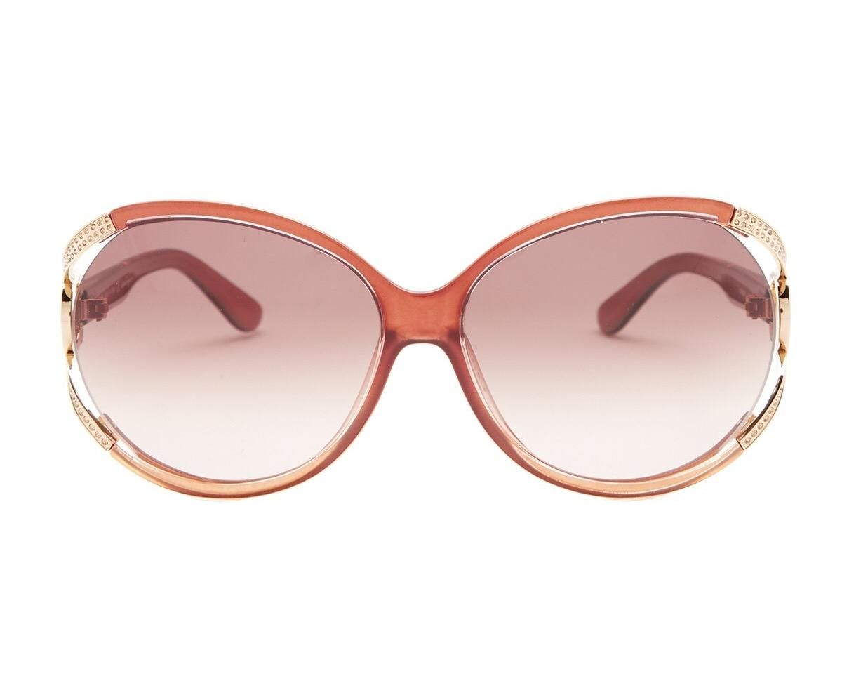 c18cdaa7f14c Free shipping and guaranteed authenticity on NEW Salvatore Ferragamo  Oversized Sunglasses, Rose Red, SF600SR at Tradesy. Salvatore Ferragamo  SF6000SR ...