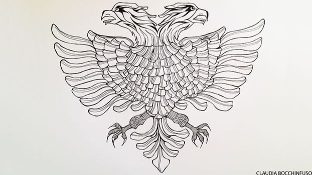 commission albanian eagle tattoos pinterest tattoo tattoo ink and body art. Black Bedroom Furniture Sets. Home Design Ideas