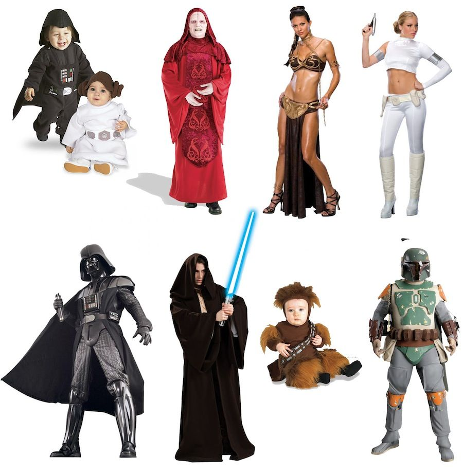 Star Wars Costumes 2011   party time   Pinterest   Star wars costumes