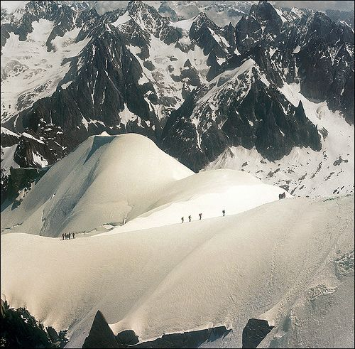 Summer winter - Mont Blanc June 2012...:)