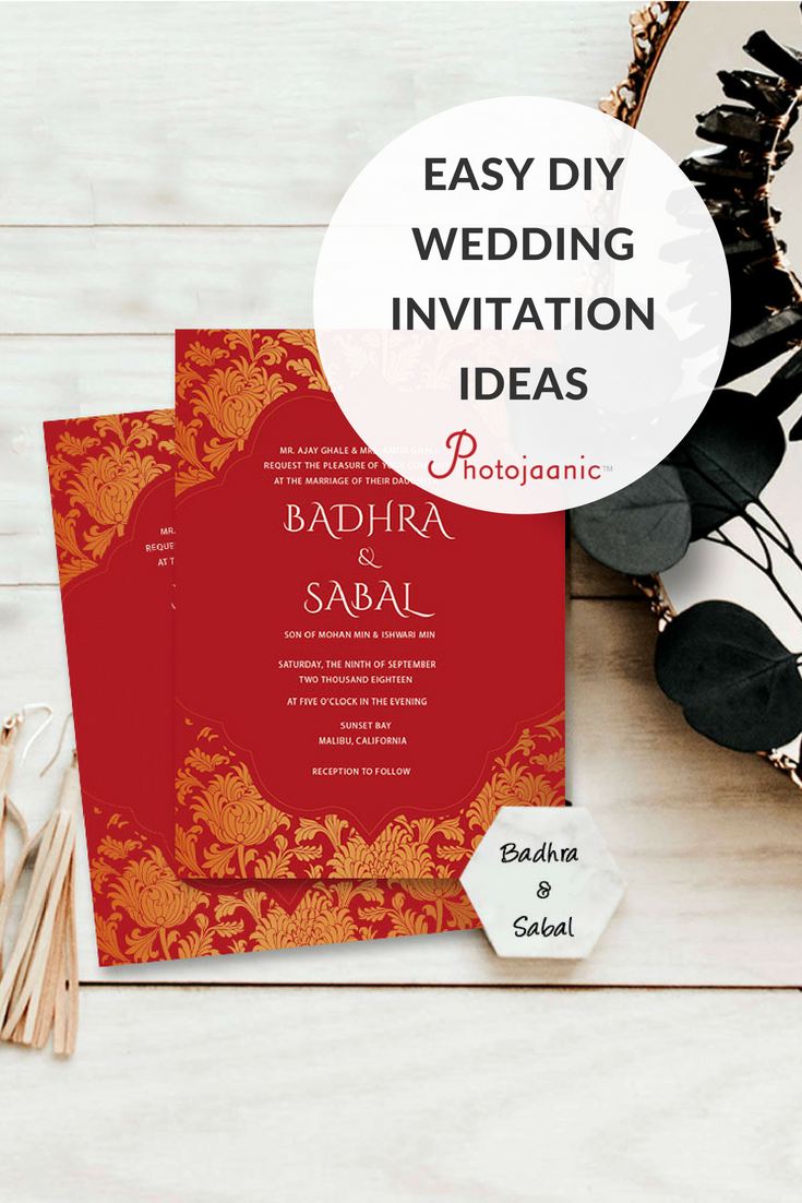 Wedding invitation ideas which theme fits your personalities