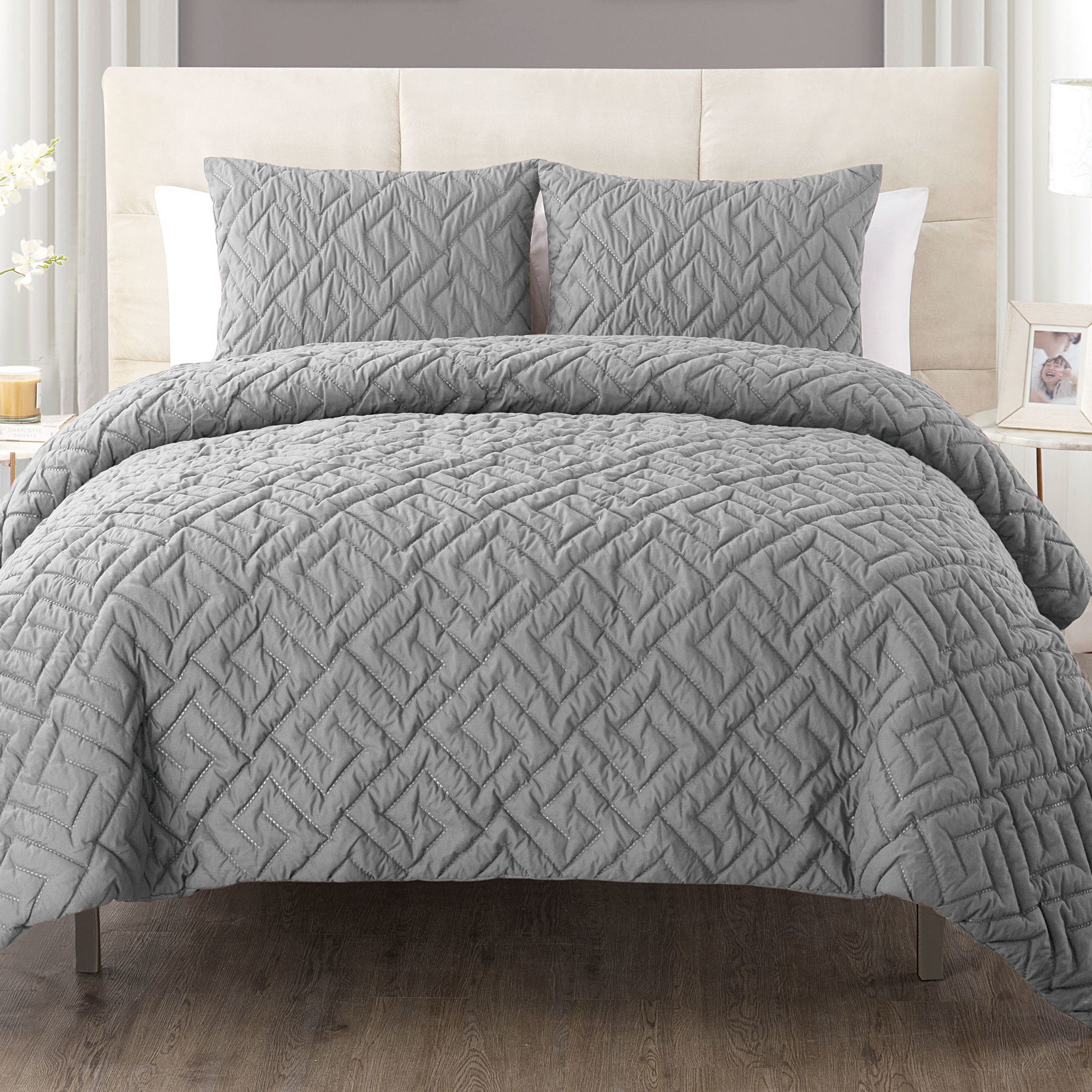 Varick Gallery Saylor 3 Piece Comforter Set U0026 Reviews | Wayfair