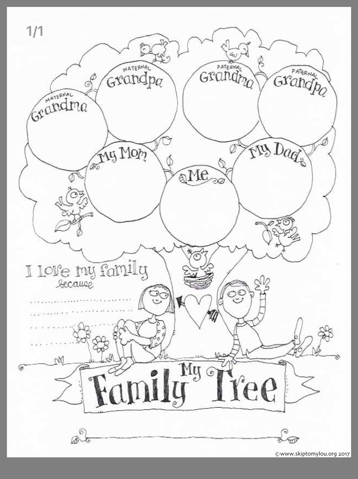 Family Tree Activity Image By Hsu Annie On Kid