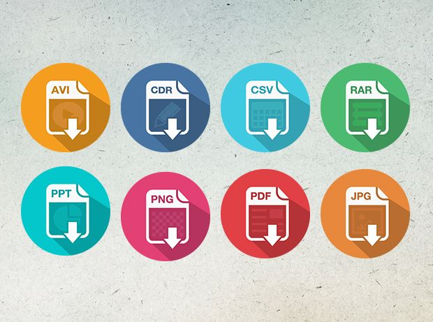 File Download Icons