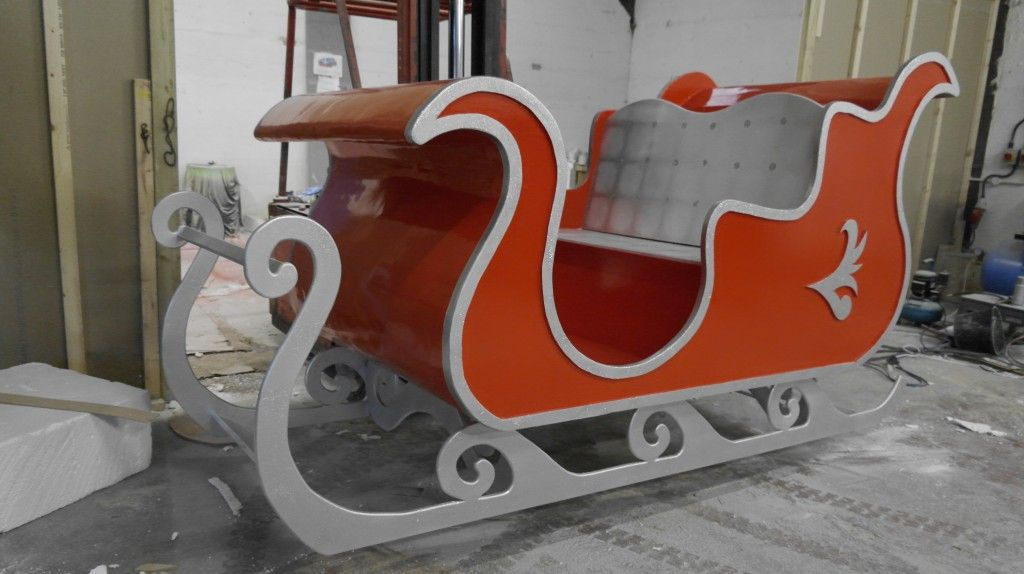 Brief The Was To Create A Life Size Sleigh For Santa Use Whilst Many Children Came Visit Him At Winter Wonderland During Christmas