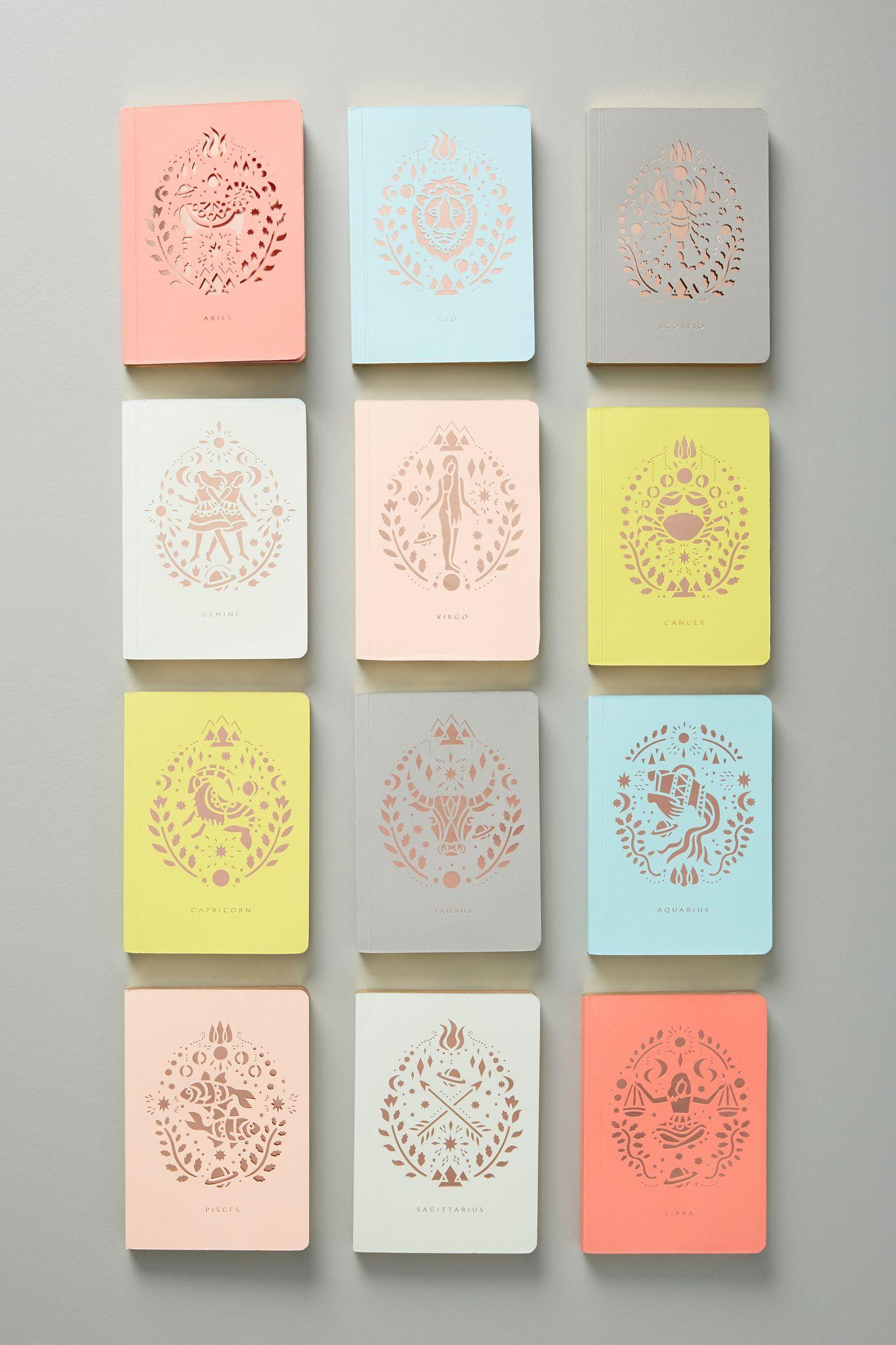 Mini Zodiac Journal   Produits