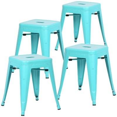 Astounding Zipcode Design Alyssa 18 Bar Stool Color Aqua Products Gmtry Best Dining Table And Chair Ideas Images Gmtryco