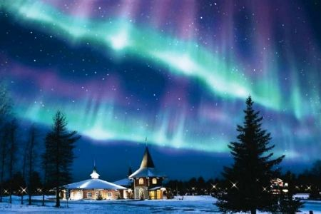 Night Of Aurora Forces Of Nature Wallpaper Id 1236225