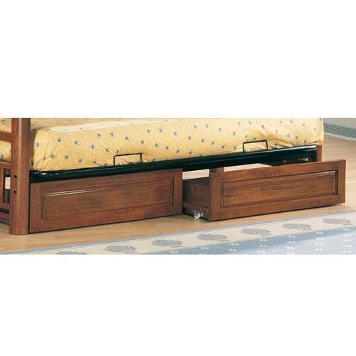 Weathered Wood Futon Storage Drawer Set