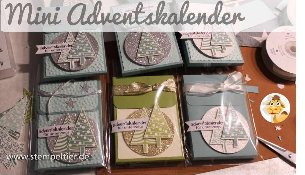 2015 stampin up stempeltier adventskalender unterwegs to go calender smarties blisterkalender. Black Bedroom Furniture Sets. Home Design Ideas
