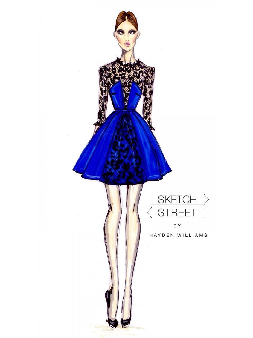 Short Dress Drawing : short, dress, drawing, Short, Dress, Sketches,, Illustration,, Fashion, Illustration