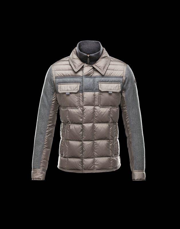 moncler mens grey jacket