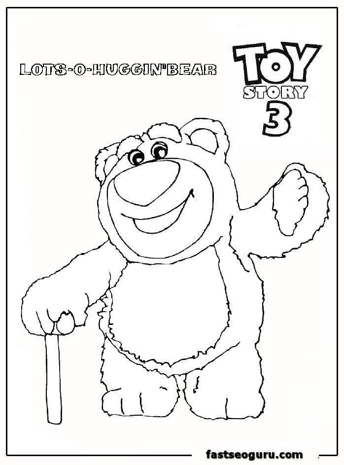 Coloring Pages Of Toy Story 3 Az Coloring Pages Para Colorir