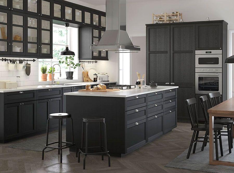Cucina Con Isola Ikea Ecco 12 Progetti A Cui Ispirarsi Cucina