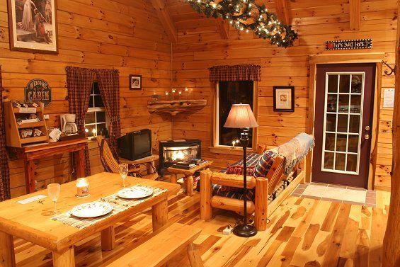 Lovers Loft Cabin Indoor Hot Tub Hocking Hills Ohio Cabins Cabin